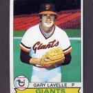 1979 Topps Baseball #311 Gary Lavelle - San Francisco Giants