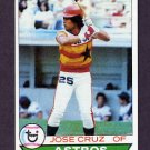 1979 Topps Baseball #289 Jose Cruz - Houston Astros