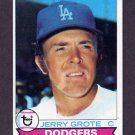 1979 Topps Baseball #279 Jerry Grote - Los Angeles Dodgers