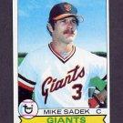 1979 Topps Baseball #256 Mike Sadek - San Francisco Giants