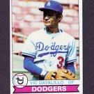 1979 Topps Baseball #228 Vic Davalillo - Los Angeles Dodgers
