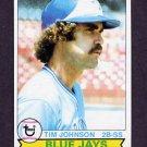 1979 Topps Baseball #182 Tim Johnson - Toronto Blue Jays