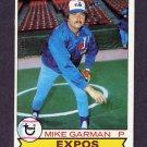 1979 Topps Baseball #181 Mike Garman - Montreal Expos