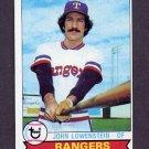1979 Topps Baseball #173 John Lowenstein - Texas Rangers