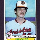 1979 Topps Baseball #160 Mike Flanagan - Baltimore Orioles Vg