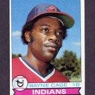 1979 Topps Baseball #150 Wayne Cage - Cleveland Indians