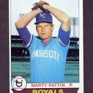1979 Topps Baseball #129 Marty Pattin - Kansas City Royals