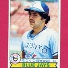 1979 Topps Baseball #152 Rick Cerone - Toronto Blue Jays ExMt