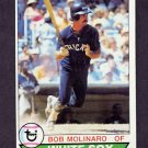 1979 Topps Baseball #088 Bob Molinaro RC - Chicago White Sox