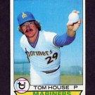 1979 Topps Baseball #031 Tom House - Seattle Mariners NM-M
