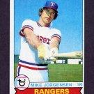 1979 Topps Baseball #022 Mike Jorgensen - Texas Rangers