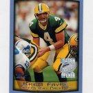 1999 Topps Season Opener Football #080 Brett Favre - Green Bay Packers