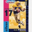1995 Collector's Choice Crash The Game Silver TD Redemption #C06 Brett Favre - Green Bay Packers