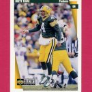 1997 Collector's Choice Football #224 Brett Favre - Green Bay Packers