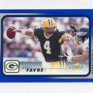 2001 Score Football #079 Brett Favre - Green Bay Packers