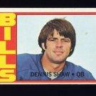 1972 Topps Football #238 Dennis Shaw - Buffalo Bills