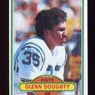 1980 Topps Football #424 Glenn Doughty - Baltimore Colts