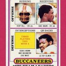 1980 Topps Football #282 Tampa Bay Buccaneers Team Leaders