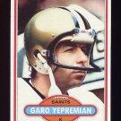 1980 Topps Football #235 Garo Yepremian - New Orleans Saints