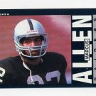 1985 Topps Football #282 Marcus Allen - Los Angeles Raiders