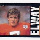 1985 Topps Football #238 John Elway - Denver Broncos ExMt