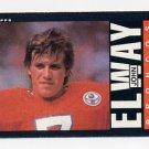 1985 Topps Football #238 John Elway - Denver Broncos Ex