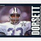 1985 Topps Football #040 Tony Dorsett - Dallas Cowboys