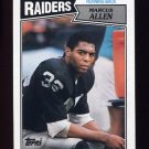 1987 Topps Football #215 Marcus Allen - Los Angeles Raiders