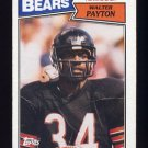 1987 Topps Football #046 Walter Payton - Chicago Bears G
