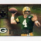 1995 Action Packed Football Armed Forces #AF05 Brett Favre - Green Bay Packers