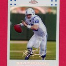 2007 Topps Chrome Football White Refractors #TC005 Peyton Manning - Indianapolis Colts /869