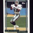 1992 Topps Gold Football #612 Tim Brown - Los Angeles Raiders