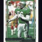 1992 Topps Gold Football #304 Byron Evans - Philadelphia Eagles