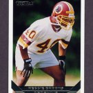 1993 Topps Gold Football #554 Reggie Brooks - Washington Redskins