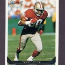 1993 Topps Gold Football #500 Jerry Rice - San Francisco 49ers