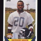 1993 Topps Football #477 Natrone Means - San Diego Chargers