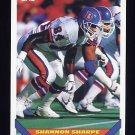 1993 Topps Football #155 Shannon Sharpe - Denver Broncos