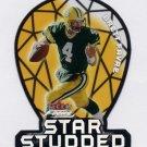 2000 Fleer Focus Football Star Studded #15 Brett Favre - Green Bay Packers