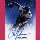 2001 Topps Football Autographs #TACJ Chad Johnson RC - Cincinnati Bengals AUTO