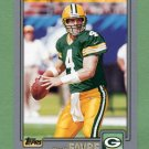 2001 Topps Football #044 Brett Favre - Green Bay Packers