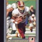 2001 Topps Football #040 Michael Westbrook - Washington Redskins