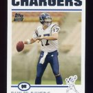 2004 Topps Football #375 Philip Rivers RC - San Diego Chargers