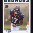 2004 Topps Football #363 Darius Watts RC - Denver Broncos