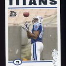 2004 Topps Football #328 Ben Troupe RC - Tennessee Titans