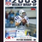 2004 Topps Football #294 Peyton Manning - Indianapolis Colts