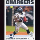 2004 Topps Football #125 LaDainian Tomlinson - San Diego Chargers