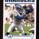 2004 Topps Football #111 Donnie Edwards - San Diego Chargers