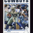 2004 Topps Football #104 Aveion Cason - Dallas Cowboys