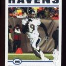 2004 Topps Football #089 Travis Taylor - Baltimore Ravens