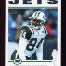 2004 Topps Football #084 Jonathan Carter - New York Jets